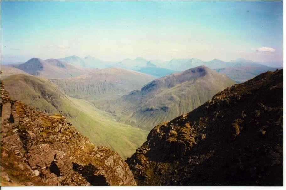 A Scottish Vista from Beinn Dorain