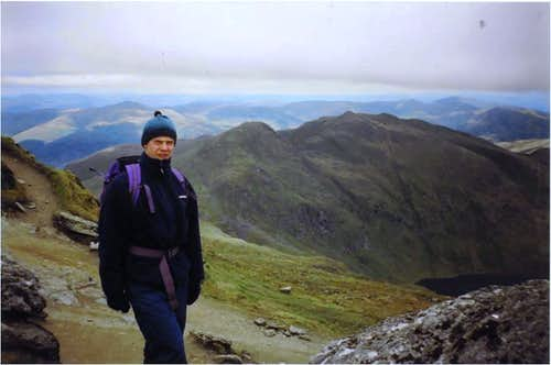 Meall Garbh from An Stuc