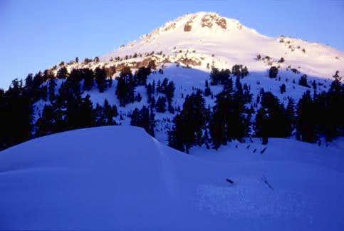 Lassen Peak from the south,...