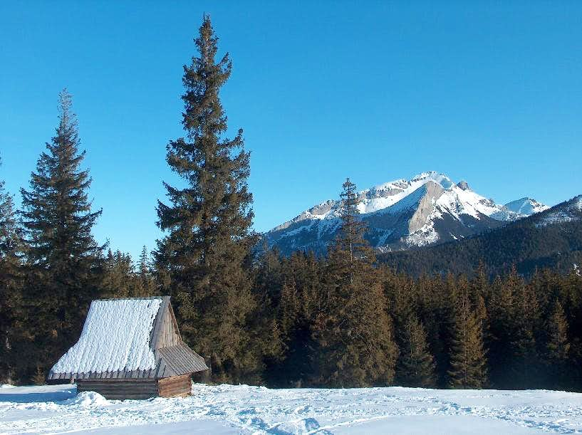 Sherperd hut and Murań