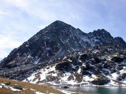 il monte Grauson mt. 3240 dal...