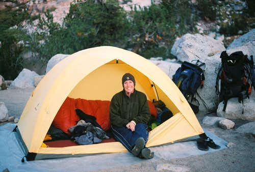 my favorite tent buddy