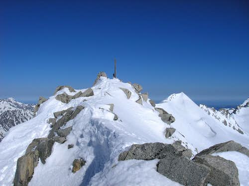 Summit of Tieralplistock 3383m