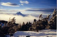 Mt hood from Lookout Mountain...