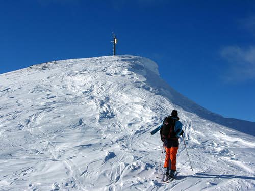 Summit of Piz Dora 2951m