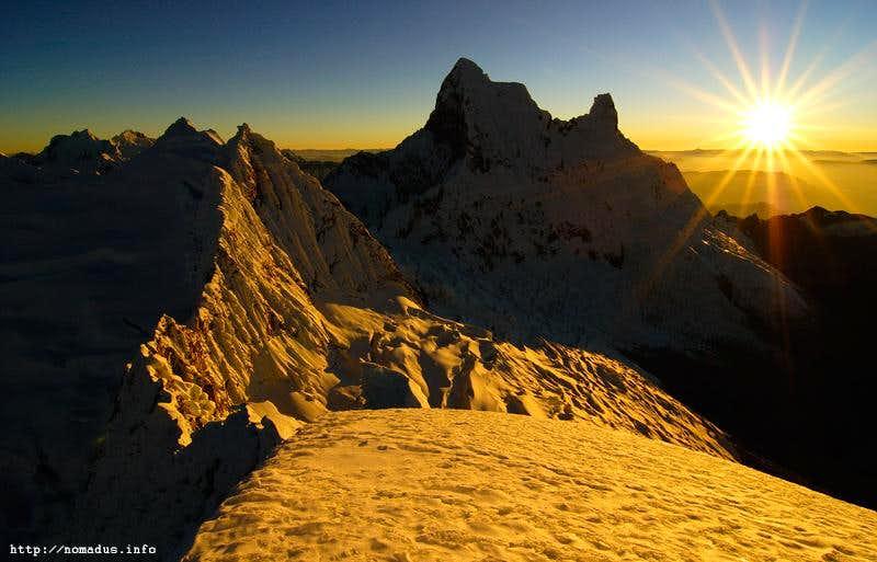 Chacraraju Sunrise