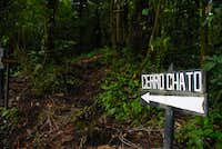 Cerro Chato trailhead