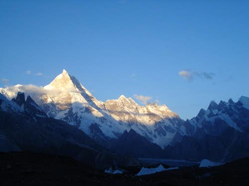 Masherbrum Peak, Karakoram, Pakistan