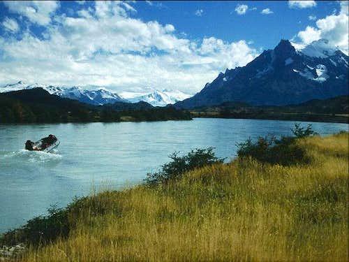 On the River Grey. Glacier...