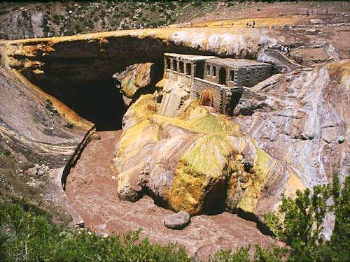 Puente del Inca near the...