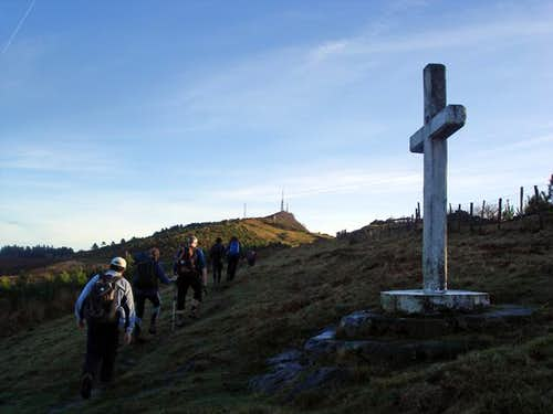 Cross and summit