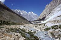 Terich river at Athak