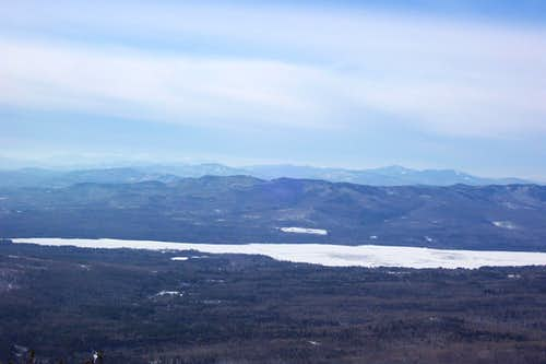 Web Lake from the summit