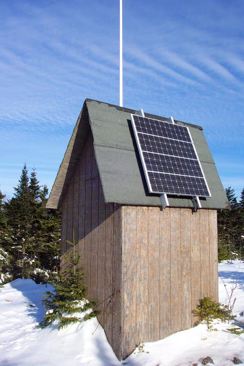 Solar Powered Relay Building