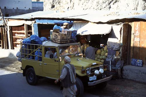 Transportation from Chitral to Shagrom
