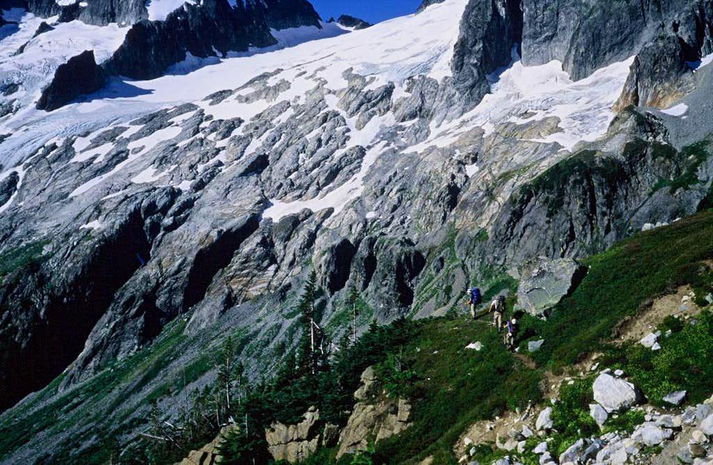 Dana Glacier Approach