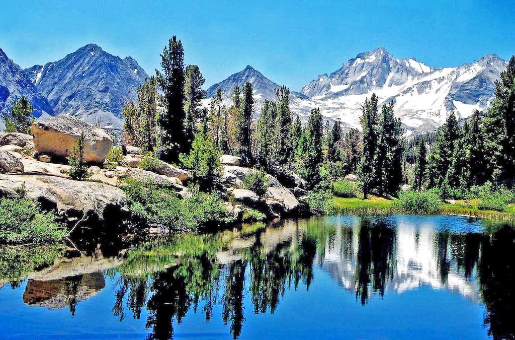 Sierra Crest, above Little Lakes Valley