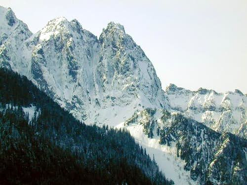 Mt. Index from US2, February...
