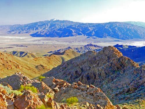 Death Valley southwest to Telescope Peak