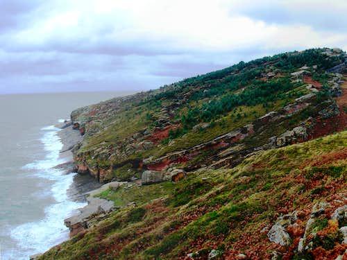 Seaside of Mount Jaizkibel