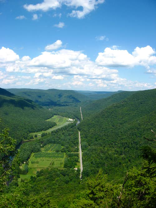 Loyalsock Creek Valley