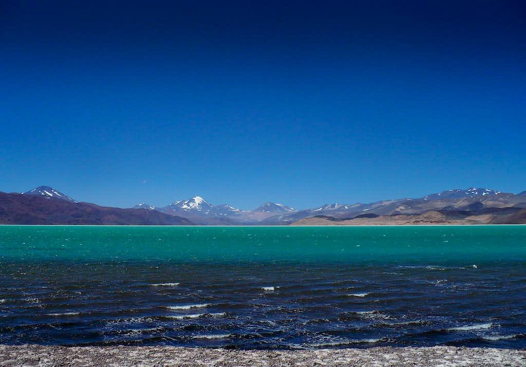 Tres Cruces over laguna Verde (2)