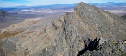 Bat Mountain (north peak)