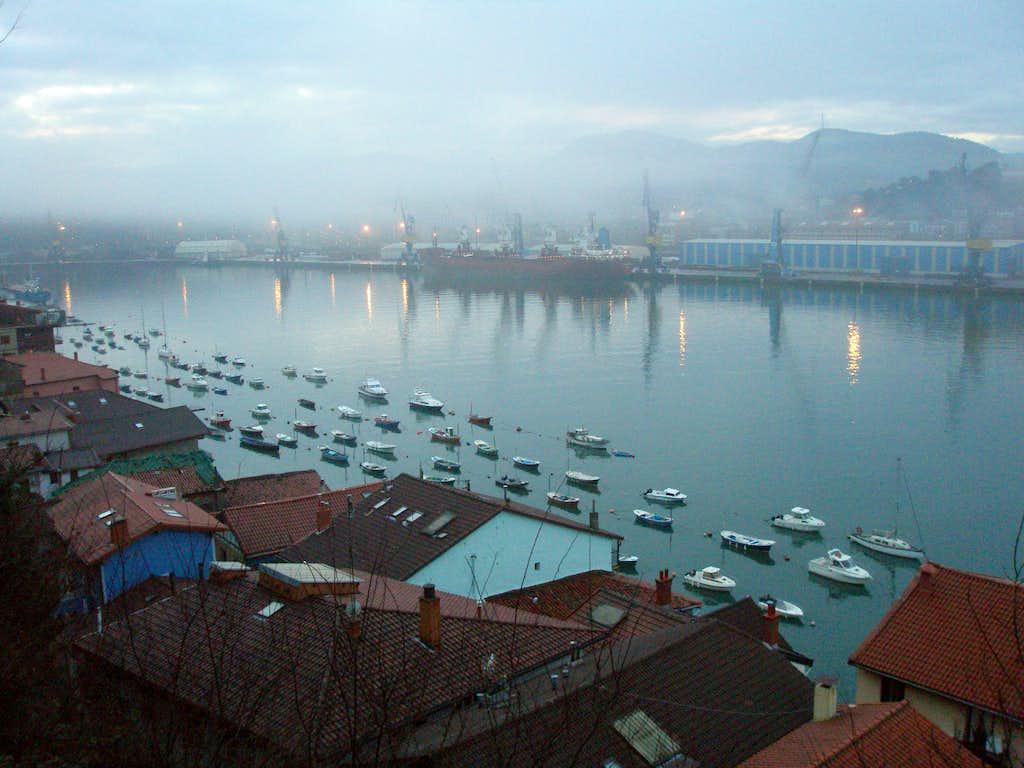 Pasaia harbour
