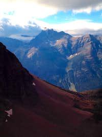 MOUNT MERRITT & OLD SUN GLACIER-GLACIER NP-MT (1968)