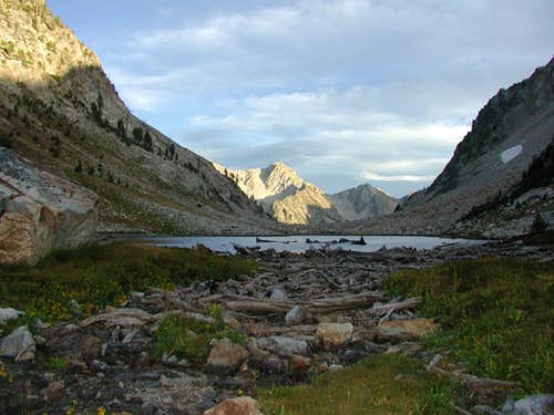 Sawtooth Lake Inlet