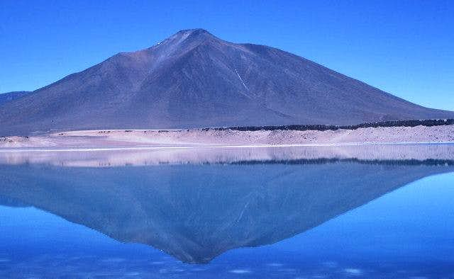Laguna Verde with Cerro...
