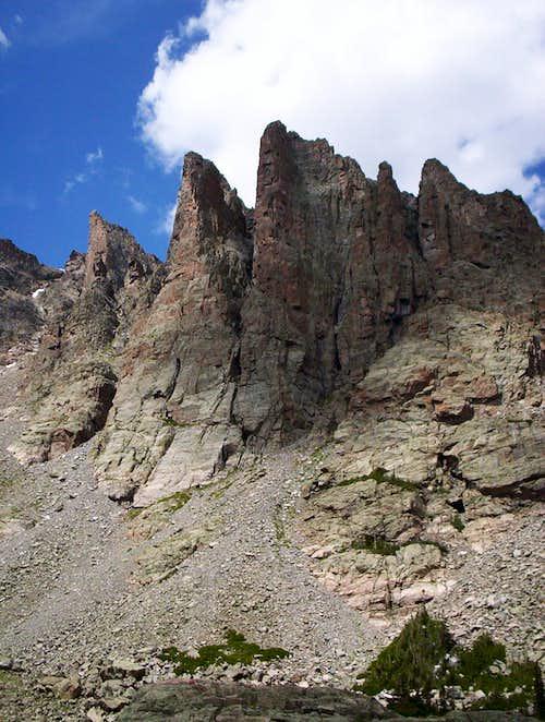 Technical Climbing Territory
