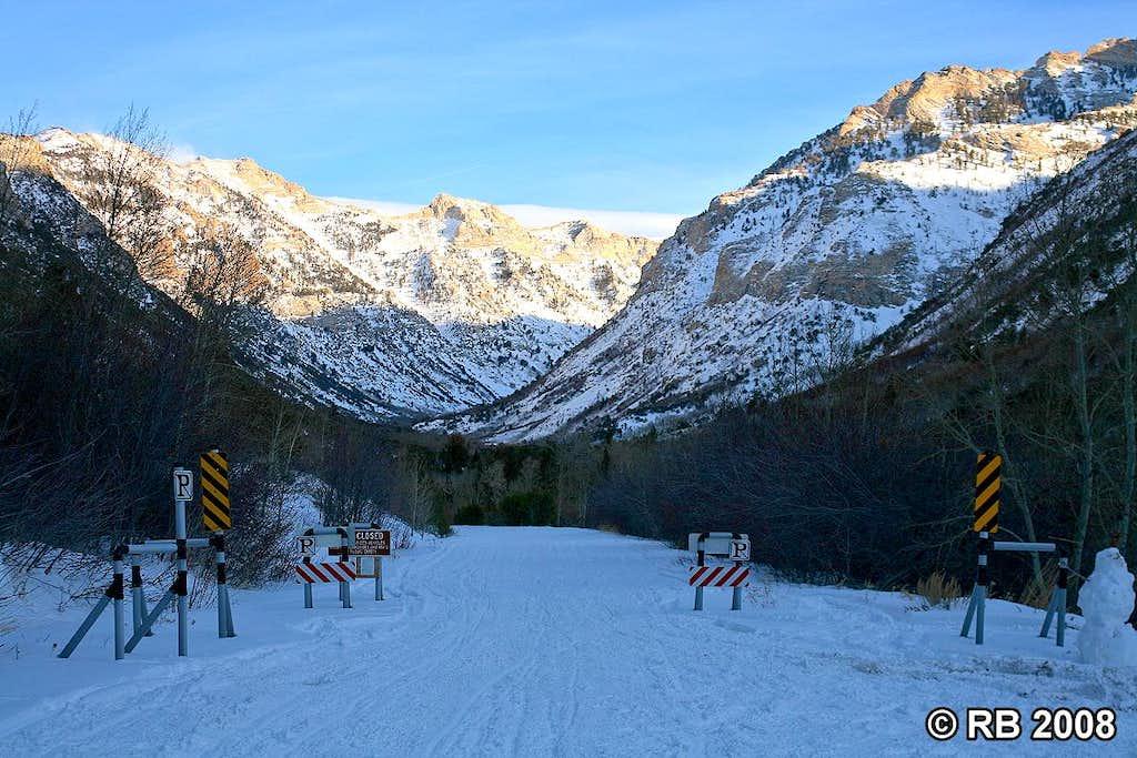 Lamoille Canyon Access Road Winter Closure   Photos  Diagrams  U0026 Topos   Summitpost