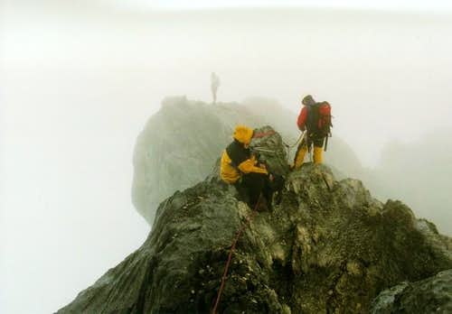 Climbing the largest gap in...