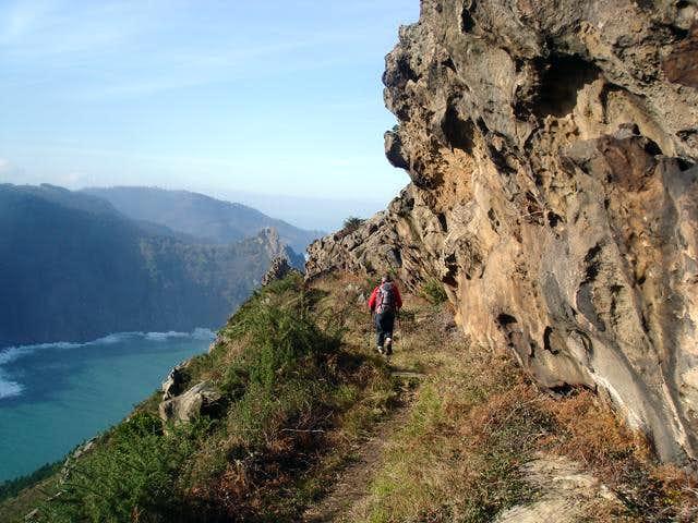 Path on the ridge