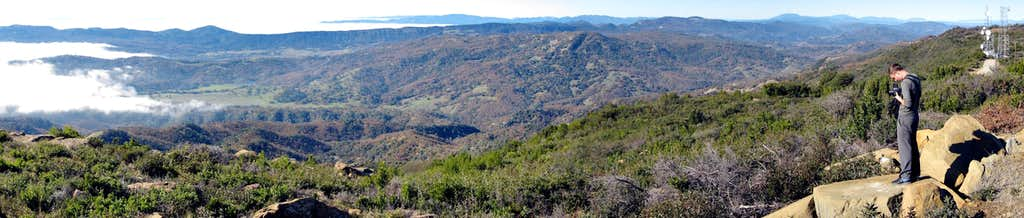 Mount Vaca Panorama
