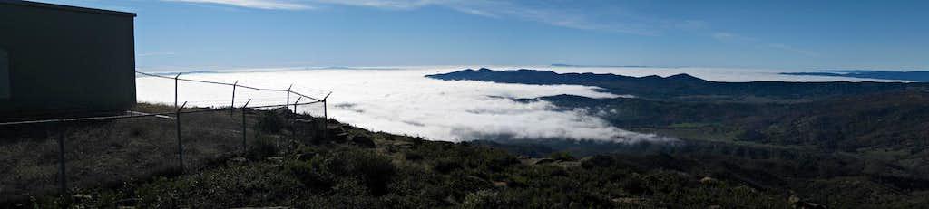 Near the Summit of Mount Vaca