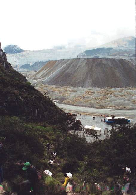 Sad reality on Carstensz;...