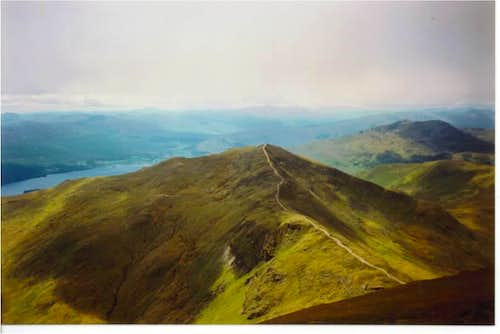 Beinn Ghlas from Ben Lawers