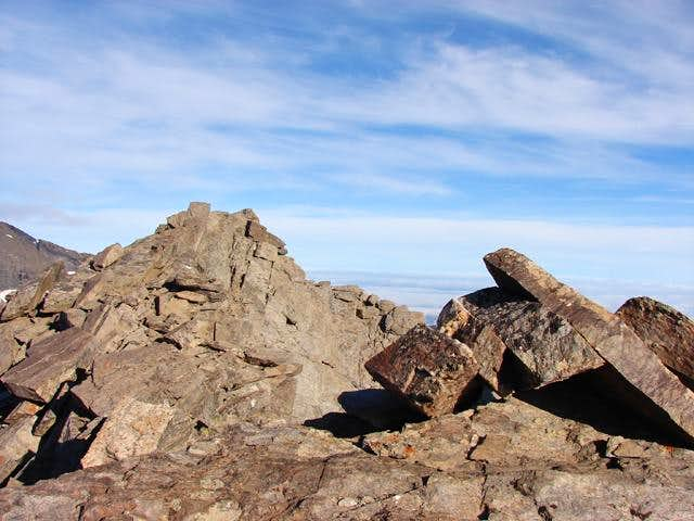 Summit of Puntal de la Caldera
