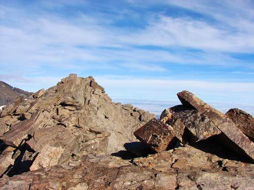 Summit of Puntal de la Caldera