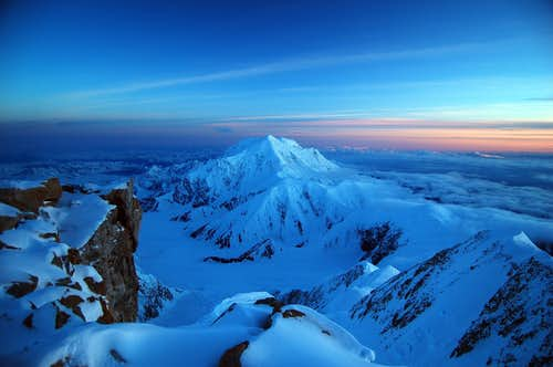 Mt Foraker Sunset at 17k