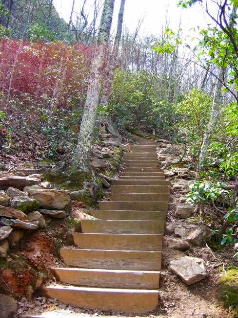 Stairs on the Crowder\'s...