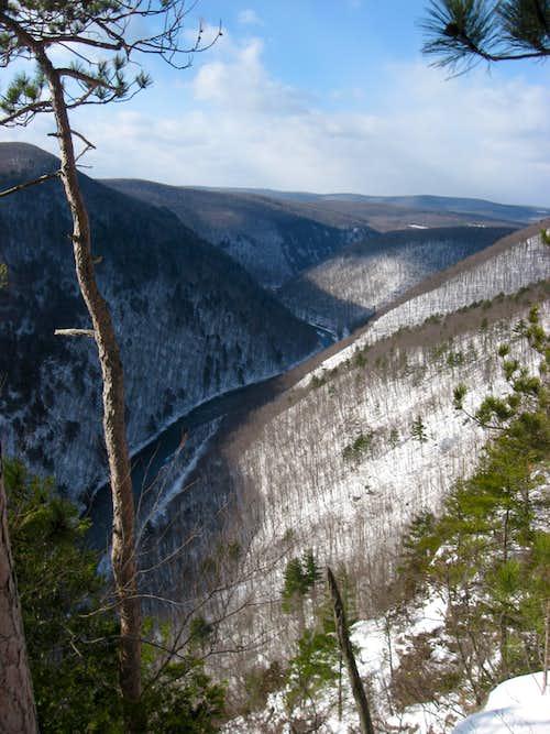 Winter at Pine Island Ledge