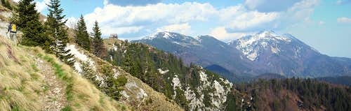 Mountain hut Koča na Golici