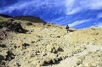 Way to the Teide