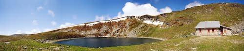 Glacial lake Golemo ezero (Big Lake)