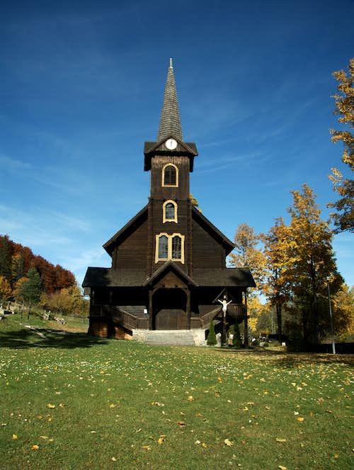 Church in Javorina