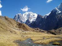 Cordillera Huayhuash and Huaraspasca