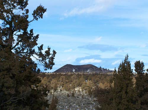 A lava dome near Fort Rock
